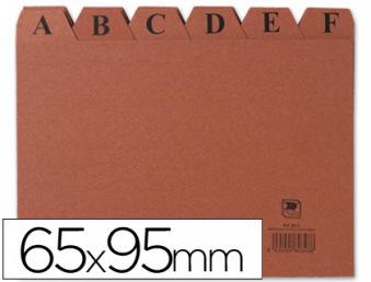 03814: Imagen de INDICE FICHERO CART�