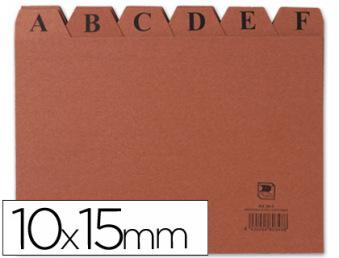 03816: Imagen de INDICE FICHERO CART�