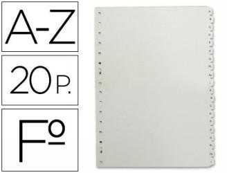 Separadores alfabeticos
