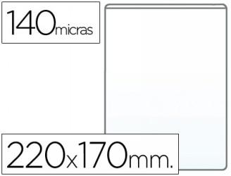 PVC, formato A4, apertura en una esquina, 100 unidades Conjunto de 10 fundas para documentos Elba