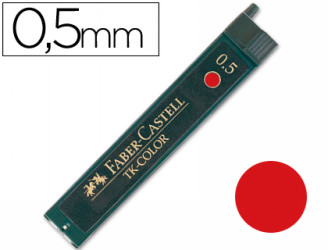 s 2B, Negro, 0,5 mm, Faber-Castell Perfect Pencil II, Perfect Pencil III, Caja, 12 pieza Faber-Castell 120502 2B Negro Mina de repuesto