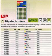 152549: Imagen de APLI ETIQUETAS PARA