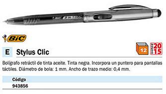 943856: Imagen de BIC BOLÍGRAFO CON P