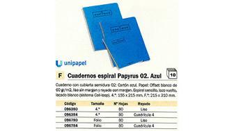 096780(1/10): Imagen de PAPYRUS CUADERNO 02