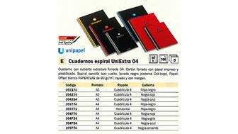 094734(1/5): Imagen de UNI EXTRA CUADERNO E