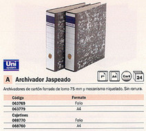 063769(1/24): Imagen de ARCHIVADOR PALANCA A
