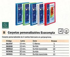 013357(1/5): Imagen de EXACOMPTA CARPETA AN