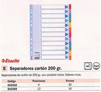 033359(1/10): Imagen de ESSELTE SEPARADORES