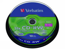 318774: Imagen de VERBATIM CD-RW DATAL