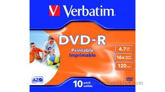 319635: Imagen de VERBATIM DVD R ADVAN