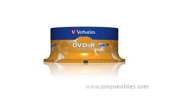 319682: Imagen de VERBATIM DVD R ADVAN