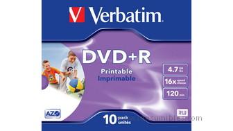 319758: Imagen de VERBATIM DVD+R ADVAN