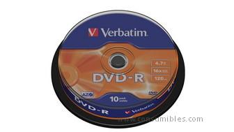 319760: Imagen de VERBATIM DVD+R ADVAN
