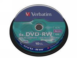 322062: Imagen de VERBATIM DVD-RW ADVA