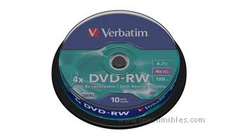 322062: Imagen de VERBATIM DVD RW ADVA