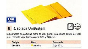 096455: Imagen de UNISYSTEM SUBCARPETA