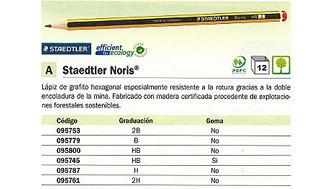 095745(1/12): Imagen de STAEDTLER LÁPIZ NOR