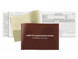 Libros de subcontratacion