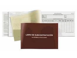 39253: Imagen de LIBRO SUBCONTRATACIO
