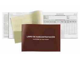 39254: Imagen de LIBRO SUBCONTRATACIO