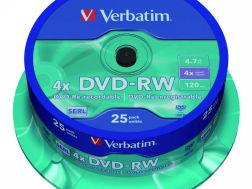 403718: Imagen de VERBATIM DVD+RW ADVA
