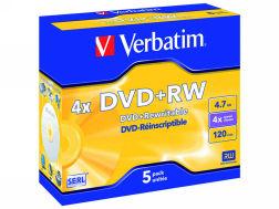 416749: Imagen de VERBATIM DVD + RW MA