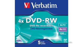416965: Imagen de VERBATIM DVD RW MATT