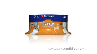 421337: Imagen de VERBATIM DVD R 25 UD