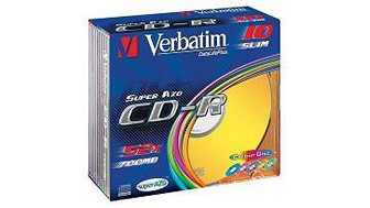 43308: Imagen de VERBATIM CD-R 700 MB
