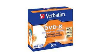 43638: Imagen de VERBATIM DVD R 4,7 G