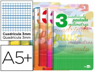 Cuadernos espiral pautaguia