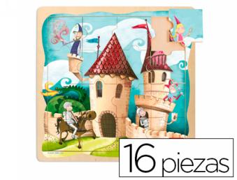 54871: Imagen de PUZZLE DISET 16 PIEZ