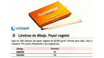 081630: Imagen de UNIPAPEL SENATOR PAP
