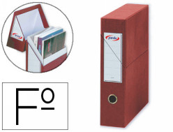Grafopl/ás 7284351-M/ódulo de 3 archivadores con palanca de 65mm color rojo