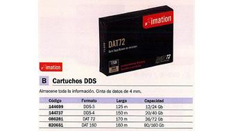 144699: Imagen de IMATION CARTUCHO DAT