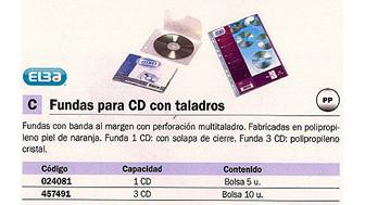 024081: Imagen de ELBA FUNDAS CD/DVD 5