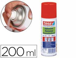 Limpiador de pegamentos en spray