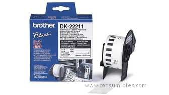 770740: Imagen de BROTHER CINTA DK2221