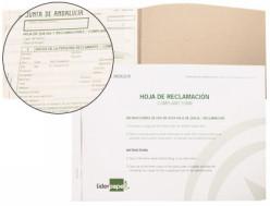 Libros de hojas de reclamacion