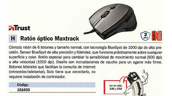 151635: Imagen de TRUST RATÓN OPTICO