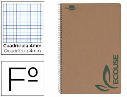 Cuadernos espiral tapa blanda