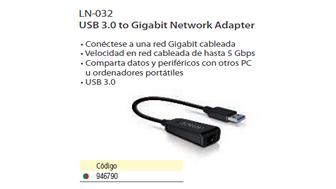 946790: Imagen de SITE ADAPTADOR USB 3