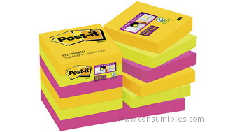 948249: Imagen de POST IT PACK 12 BLOC
