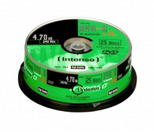 CD21270011: Imagen de INTENSO DVD-R 4.7GB,