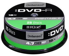 CD21270023: Imagen de INTENSO DVD+R 4.7GB,