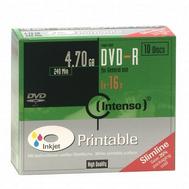 CD21270014: Imagen de INTENSO DVD-R 4.7GB,