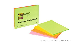 948997: Imagen de POST IT PACK DE 4 BL