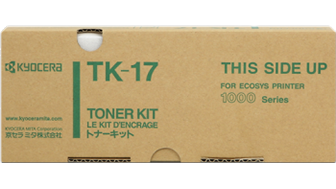 TK17: Imagen de TÓNER NEGRO TK-17 1