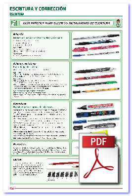 Seleccion de bolígrafos