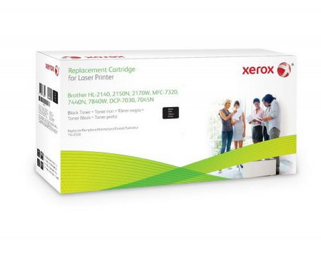 Cartucho de toner CARTUCHO DE TONER XEROX COMPATIBLE CON LA REFERENCIA TN2120 DE BROTHER TN-2120 NEGRO 2.600 PAGINAS